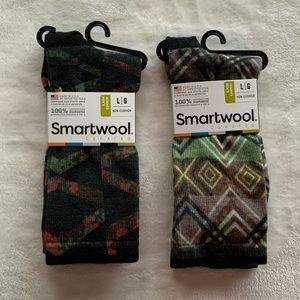 (2) NWT Smartwool Men's  Crew Socks